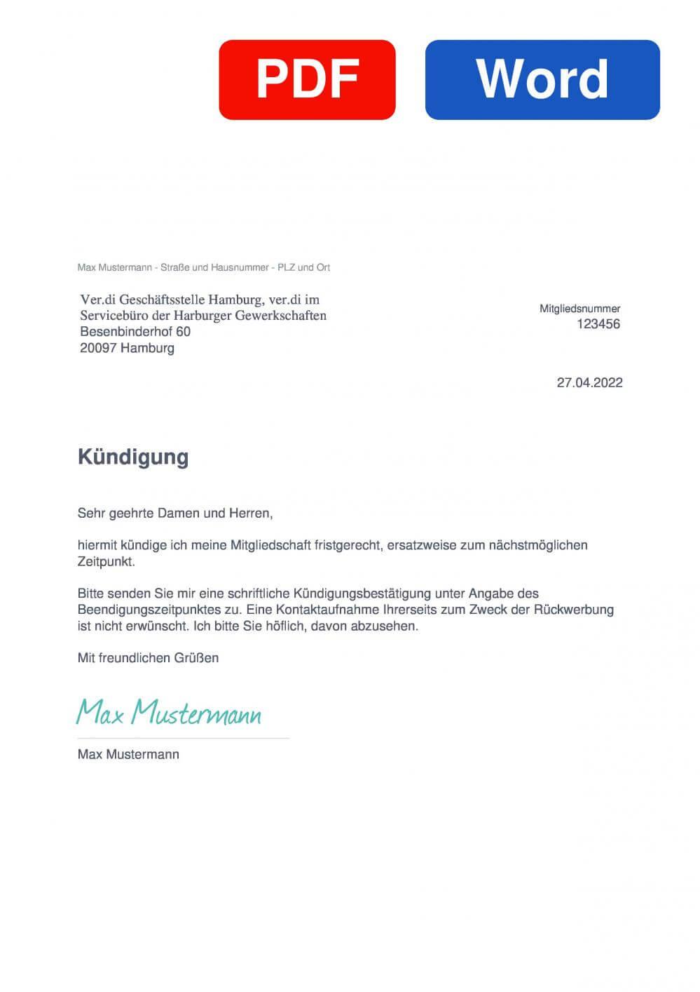 Verdi Hamburg, ver.di im Servicebüro der Harburger